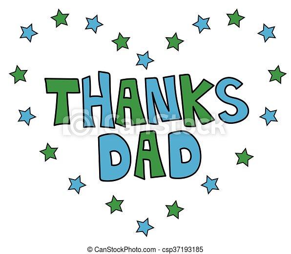Remerciement papa