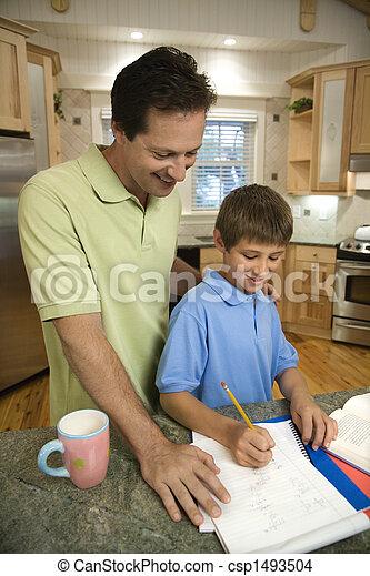 papa, son. - csp1493504