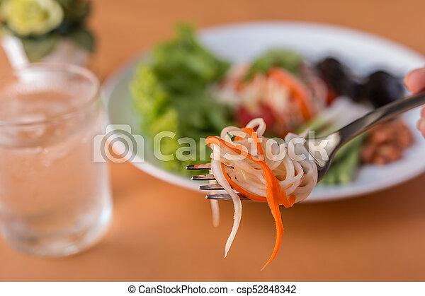 Papaya Salad - csp52848342