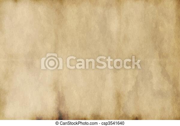 papel, antigas - csp3541640