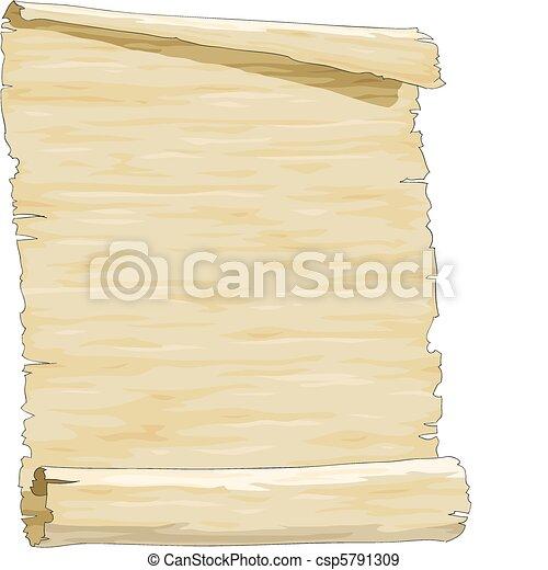 papel, antigas - csp5791309