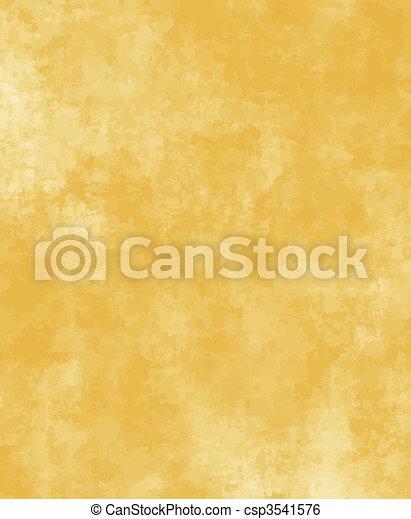 papel, antigas, ou, pergaminho - csp3541576