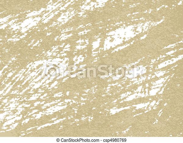 papel, antigas, textura - csp4980769