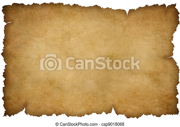 Papel rasgado aislado en blanco - csp9018068