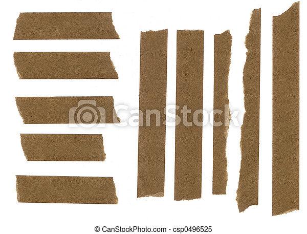 Enmascarar cinta de papel - csp0496525