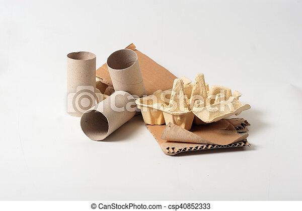 Desechos de papel - csp40852333