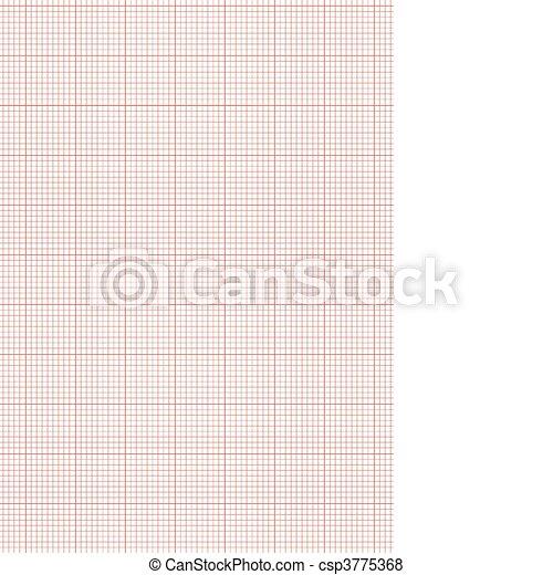 Papel de gráfico, hoja, a4, rojo. Gráfico, resumen, papel pintado ...