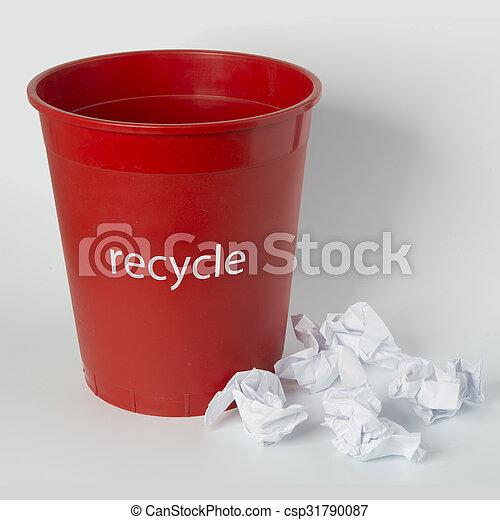 Desechos de papel - csp31790087