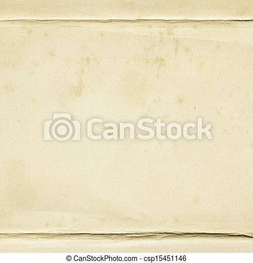 papel, envelhecido - csp15451146