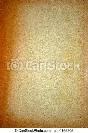 papel, envelhecido - csp0165805