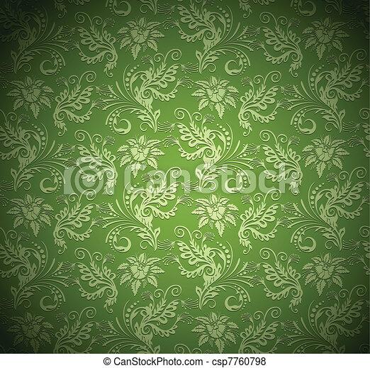 papel parede, fundo, textura - csp7760798