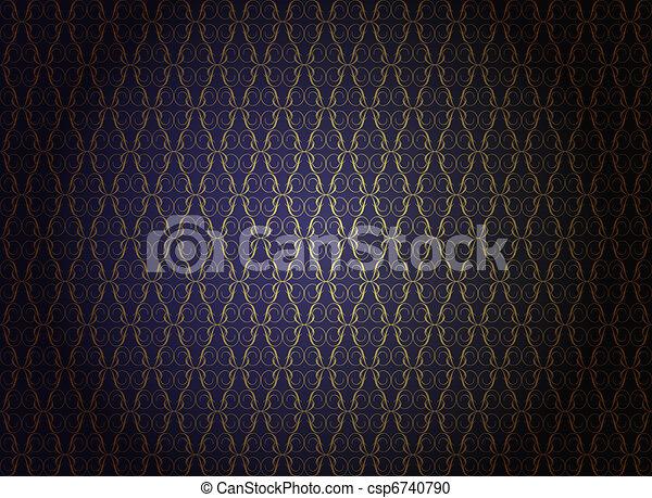 papel parede, luxo - csp6740790