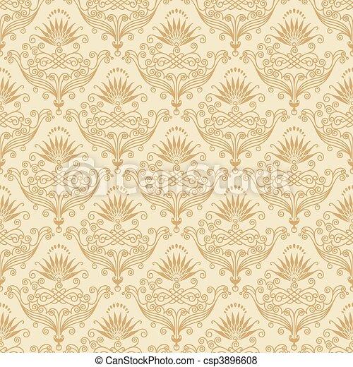 papel parede, seamless - csp3896608