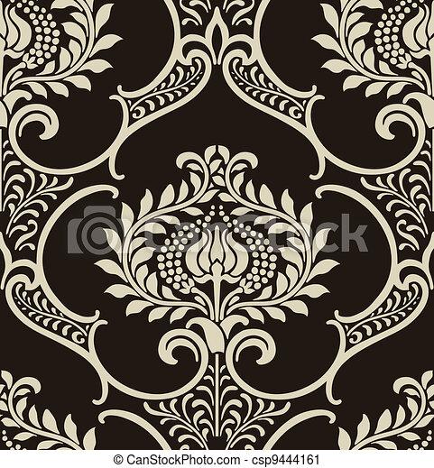 Papel tapiz de damasco - csp9444161