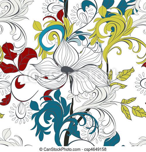 Papel tapiz sin costura - csp4649158
