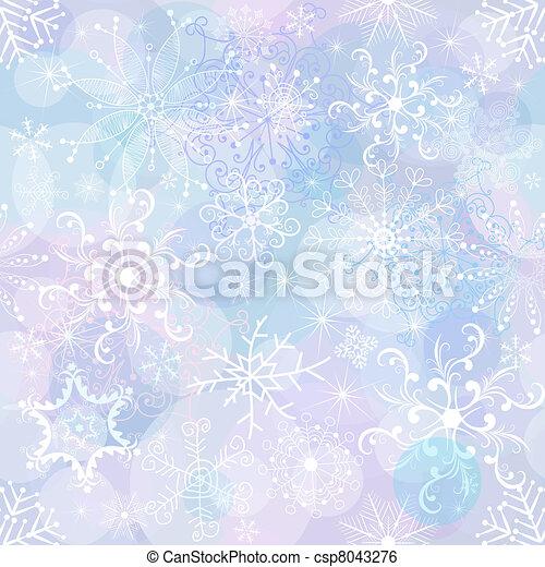 Papel de Navidad sin costura - csp8043276