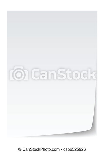 papel, vector - csp6525926