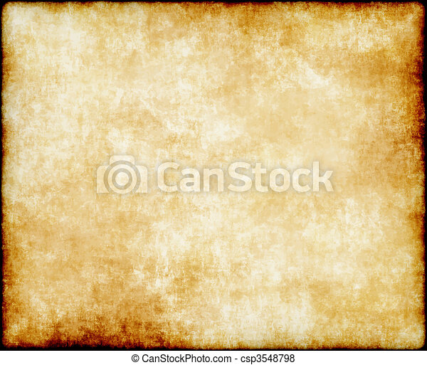 papel, viejo, o, pergamino - csp3548798