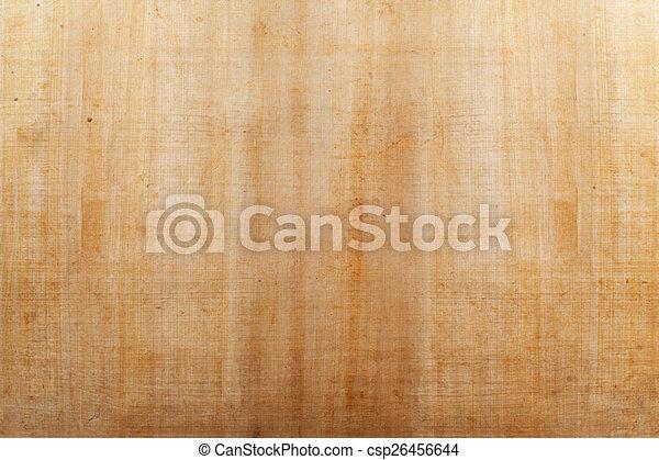 Papel de papiro - csp26456644