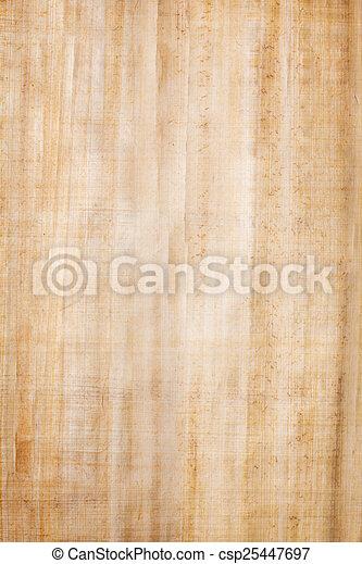 Papel de papiro - csp25447697