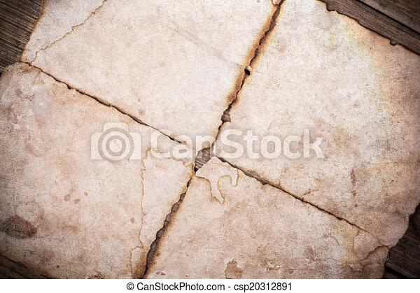 Vieja textura de papel - csp20312891