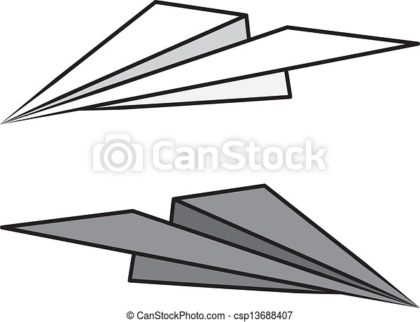 paper airplane isolated isolated paper airplane light and rh canstockphoto com paper airplane clipart free paper airplane clipart png