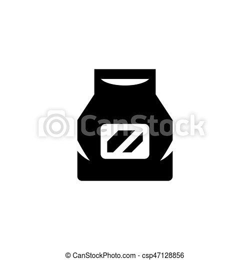 Paper bag icon - csp47128856