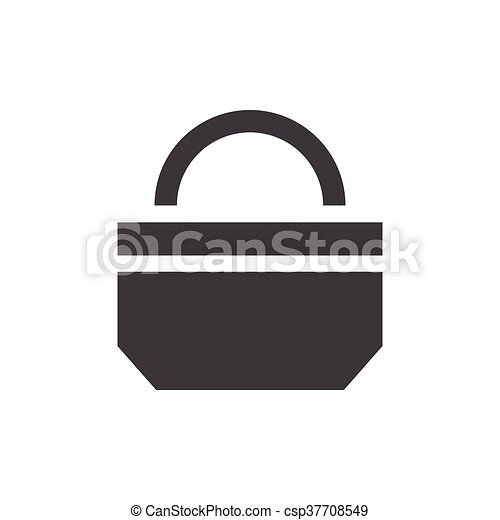 paper bag icon design - csp37708549