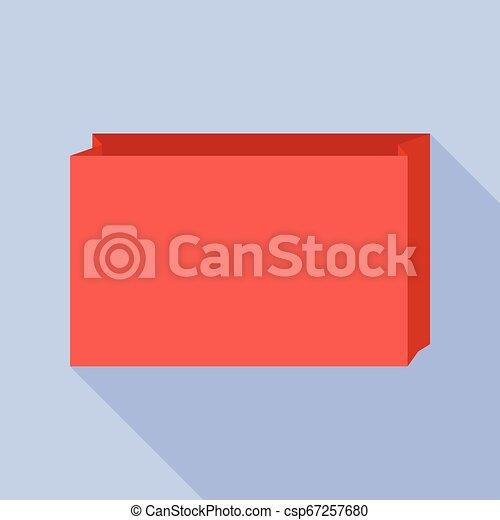 Paper bag icon - csp67257680