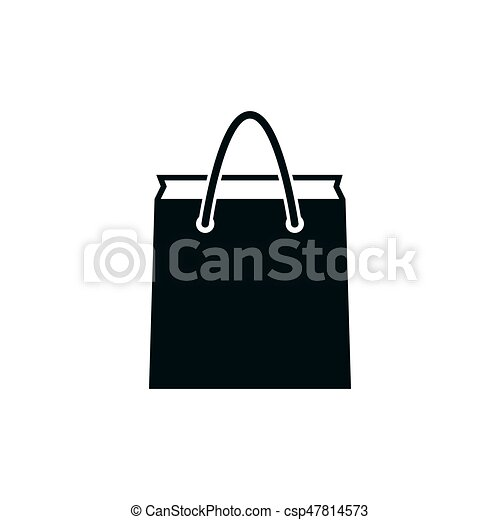 Paper bag icon - csp47814573