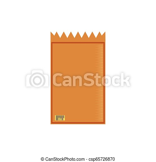 paper bag isolated icon - csp65726870