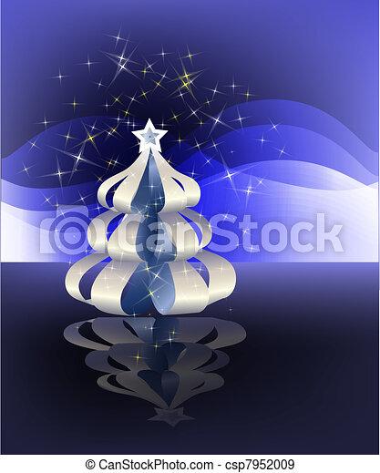 Paper Christmas tree - csp7952009