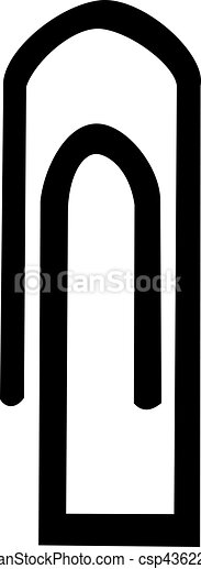 Paper clip - csp43622819