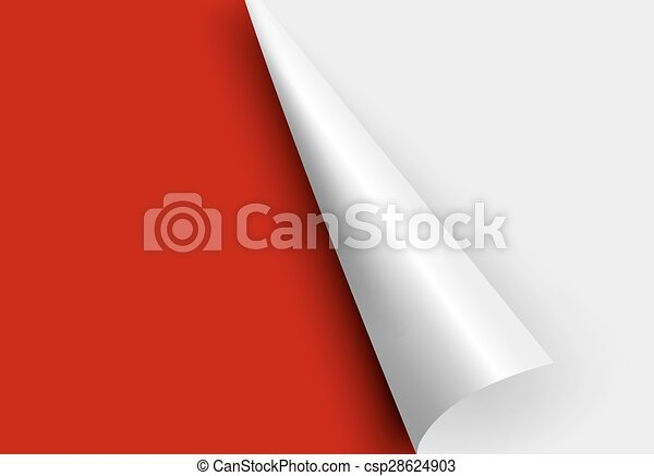 paper corners.  - csp28624903
