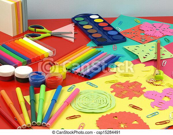 paper-cut, colorito - csp15284491