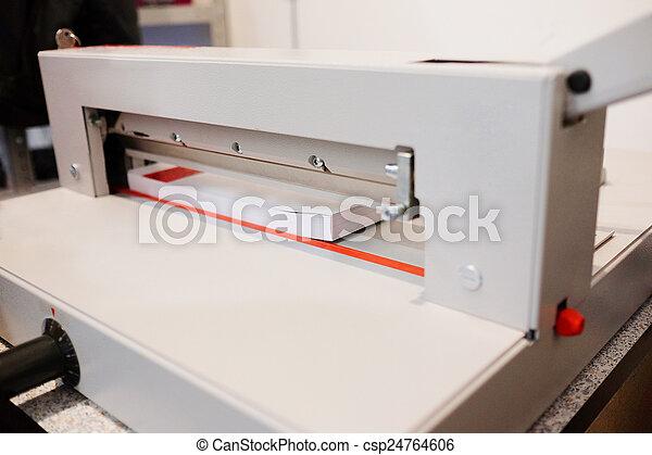 Paper cutter - csp24764606