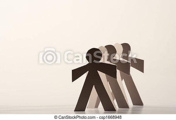 Paper Dolls - csp1668948