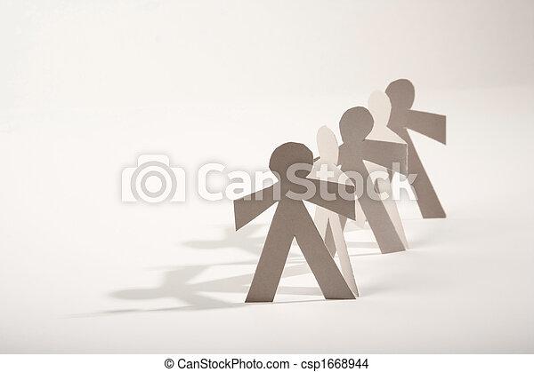 Paper Dolls - csp1668944