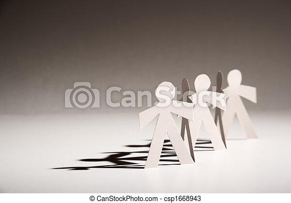 Paper Dolls - csp1668943
