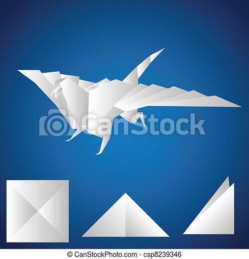 paper., dragão - csp8239346
