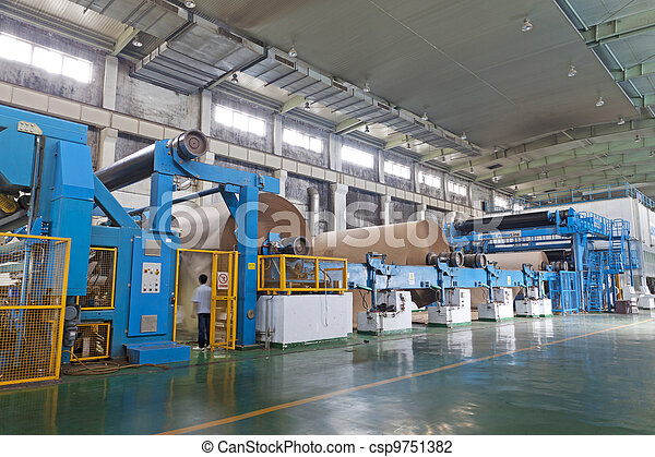 paper enterprise production line - csp9751382