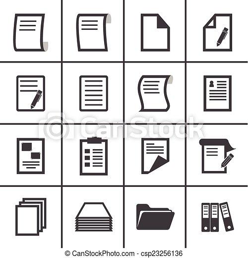 paper icon - csp23256136