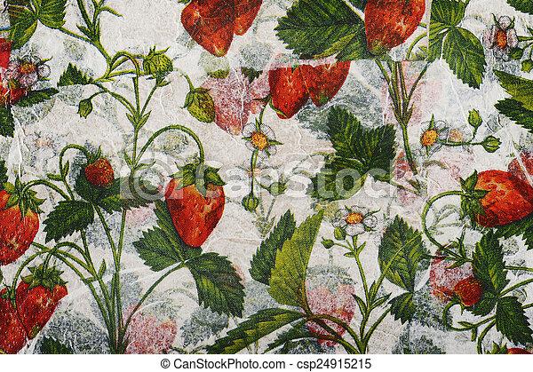 Paper mache background - csp24915215