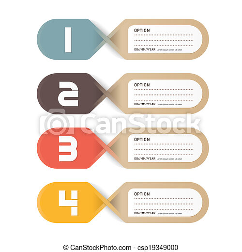 paper price tag. vector - csp19349000