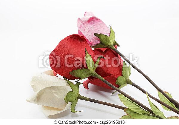 Paper rose - csp26195018