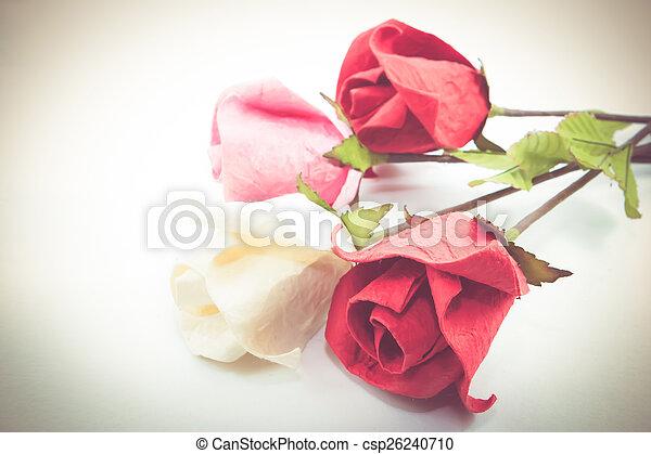 Paper rose - csp26240710
