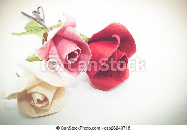 Paper rose - csp26240718