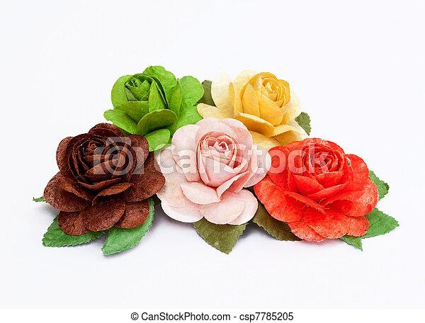 paper rose - csp7785205
