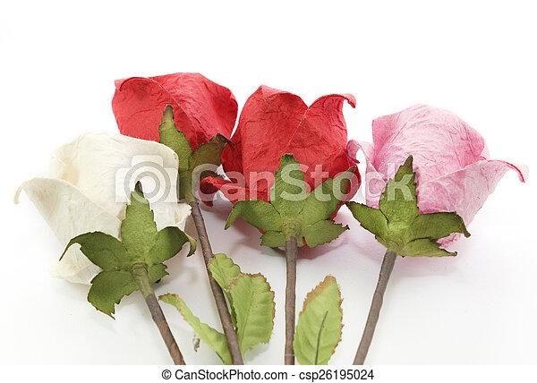 Paper rose - csp26195024