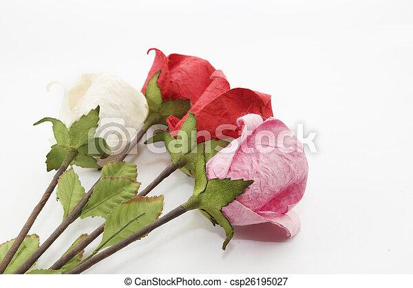 Paper rose - csp26195027